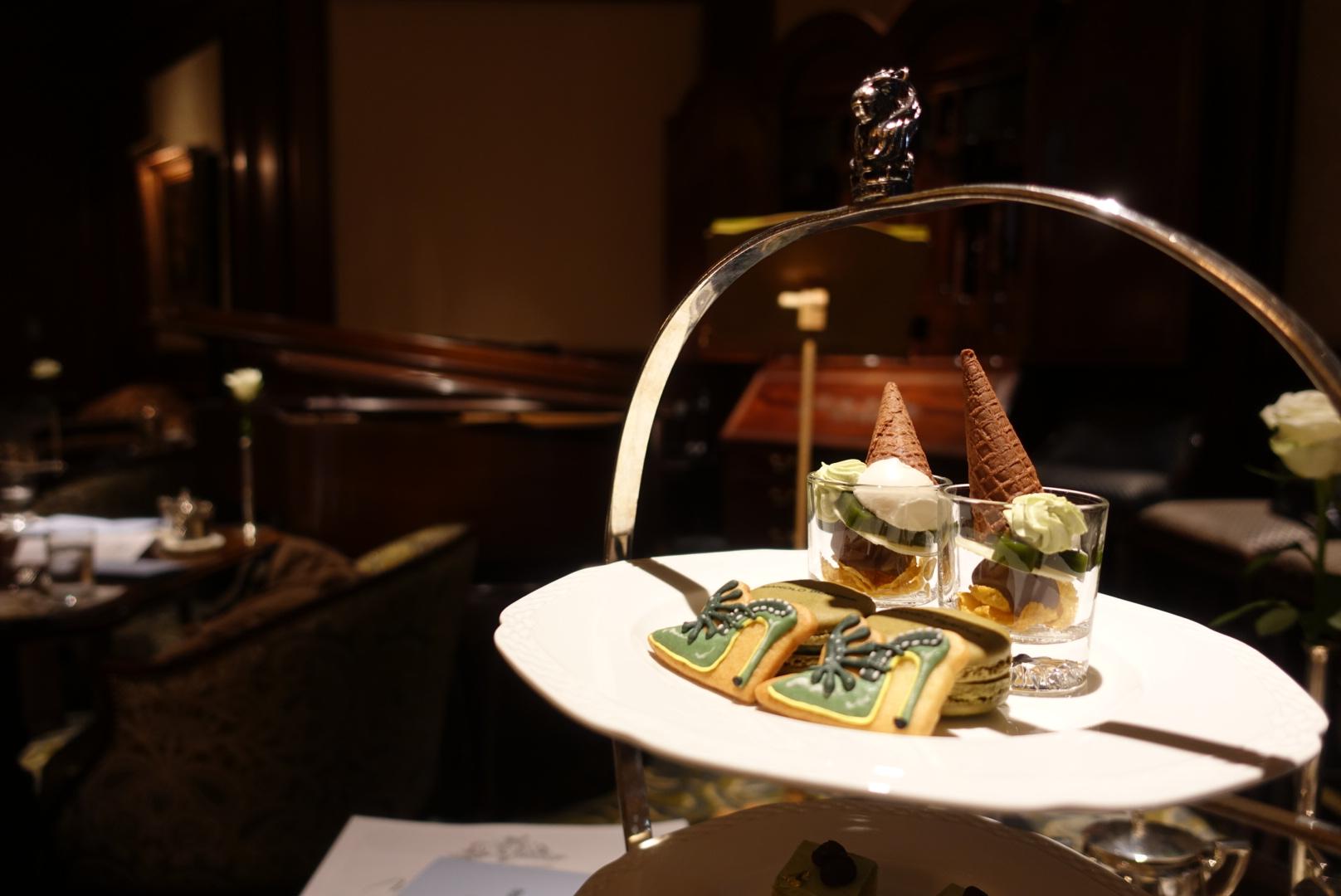 【ホテルアフタヌーンティー】リッツカールトン大阪でマノロコラボ抹茶アフタヌーンティー開催中♡