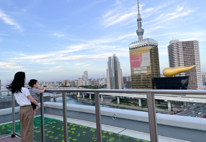 MIMARU東京浅草ステーションの屋上
