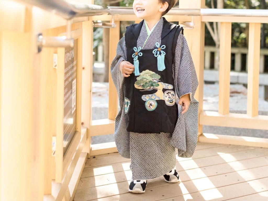 3歳の七五三で着る被布